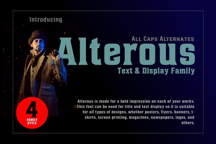 Alterous Display