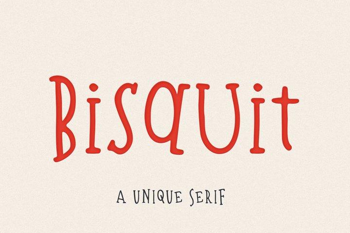 Bisquit | A Unique Serif