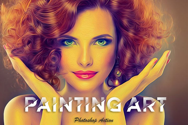 Painting Art Photoshop Action