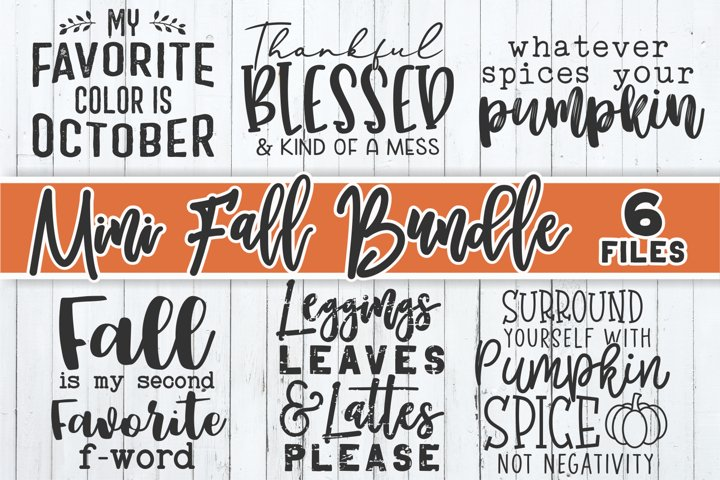 Fall Bundle SVG | Autumn Bundle