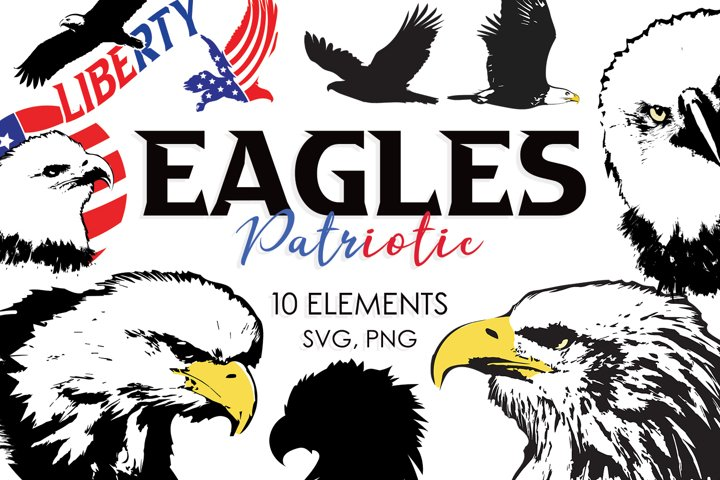 Patriotic Bundle, Svg Bundle, Eagle Svg, Patriotic Svg