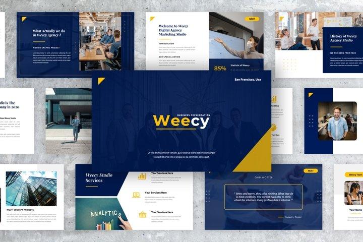 Weecy - Business Keynote Presentation Templates