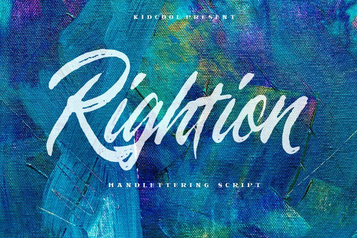 Rightion Handlettering