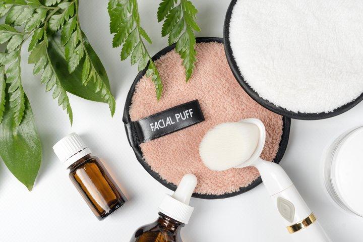 Organic bio cosmetics with herbal ingredients