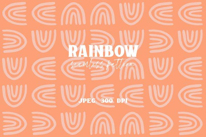 Rainbow - Seamless Pattern