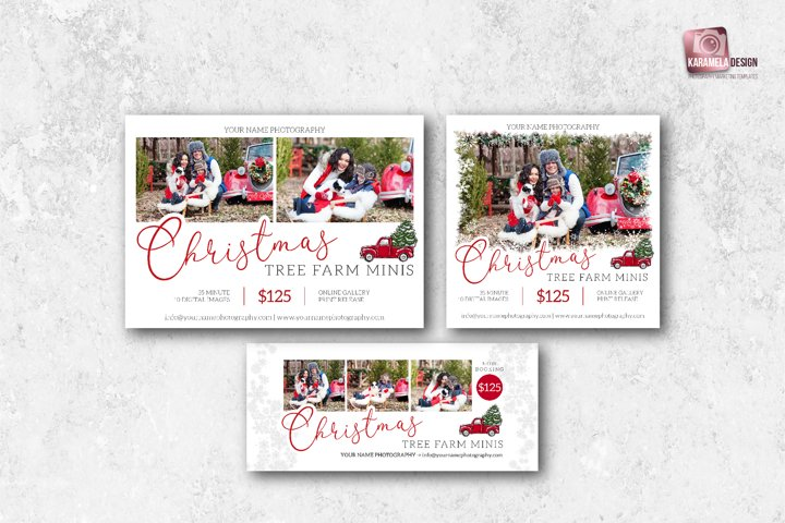 Christmas Tree Farm Minis Marketing Bundle