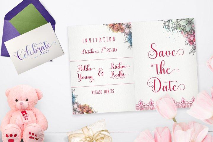 Mistletoe - Font Duo + Bonus - Free Font of The Week Design5