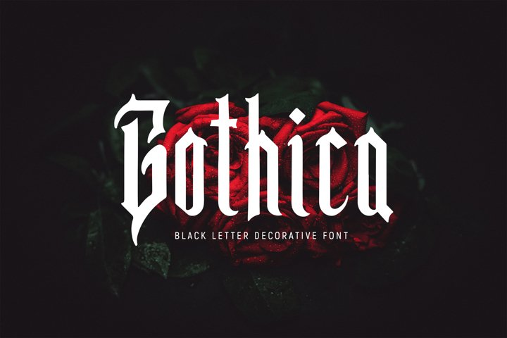 Gothica - Gothic Font
