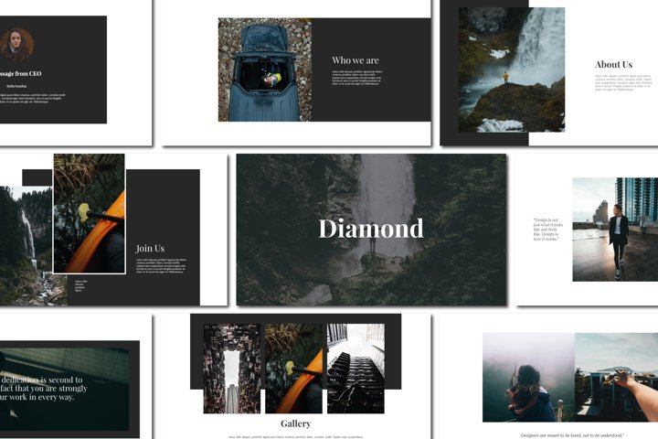 Diamond - Powerpoint Templates