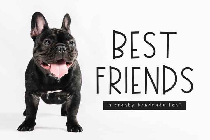 Best Friends Handmade Font