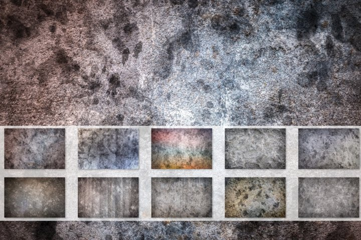 10 vintage backgrounds in high resolution