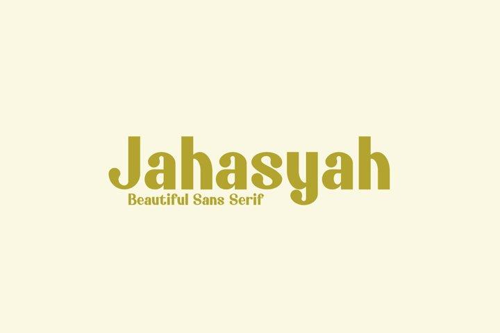 Jahasyah