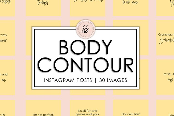 Body Contouring Yellow Instagram Posts
