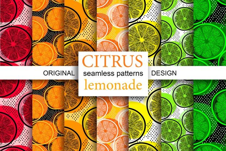 CITRUS lemonade patterns