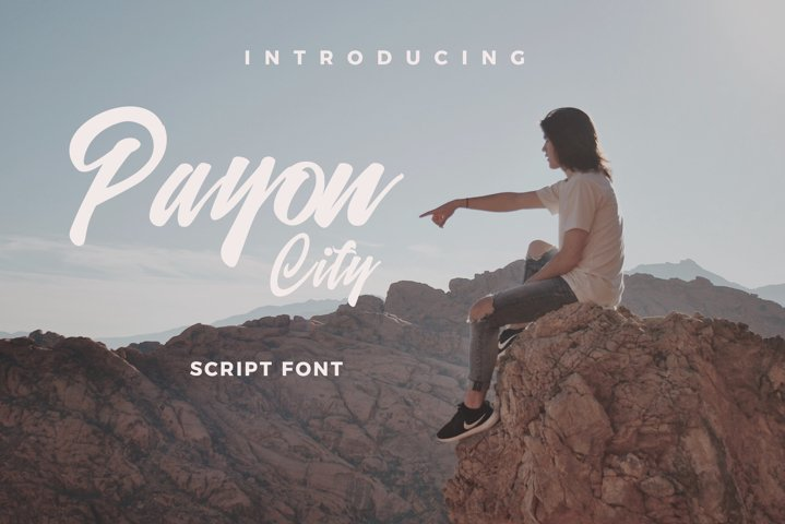 Payon City Typeface