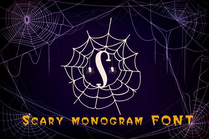 Scary monogram
