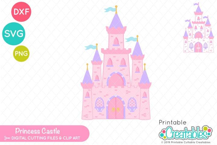 Princess Castle SVG