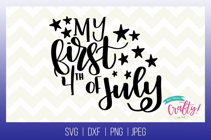 My First 4th of July | Digital File