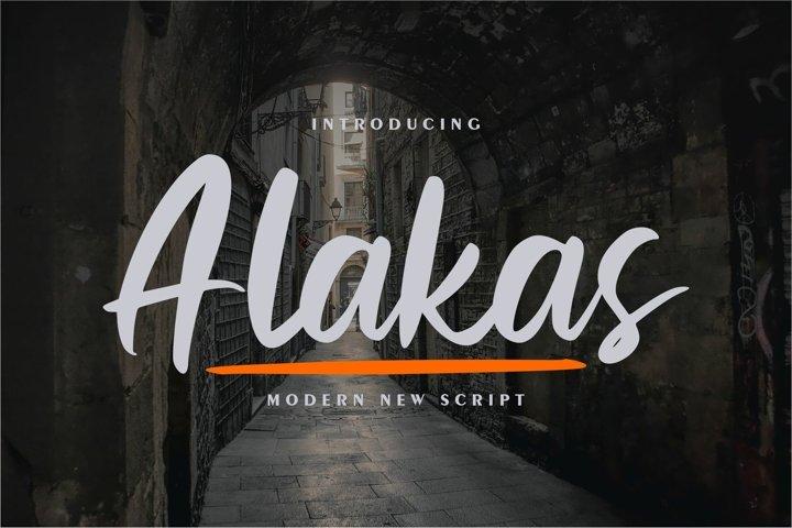 Alakas | Modern New Script