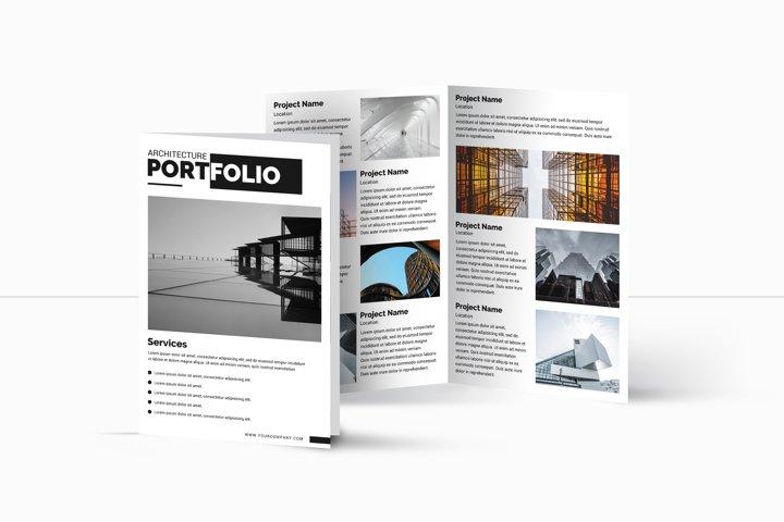 Architecture bifold Brochure | Multipurpose Brochure