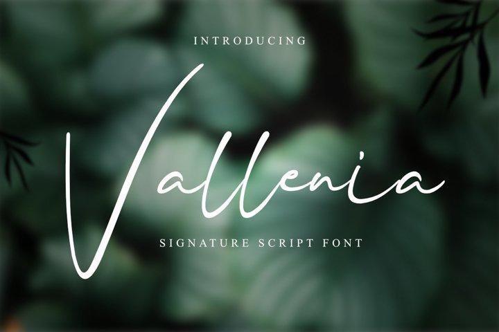 Vallenia Script