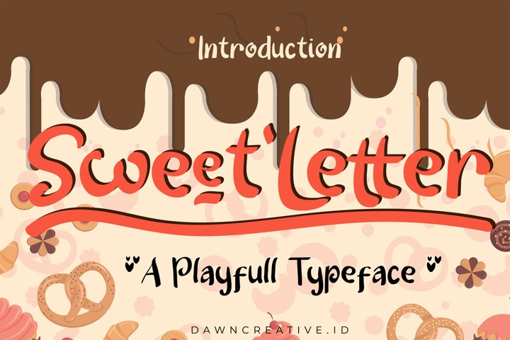Sweet Letter example