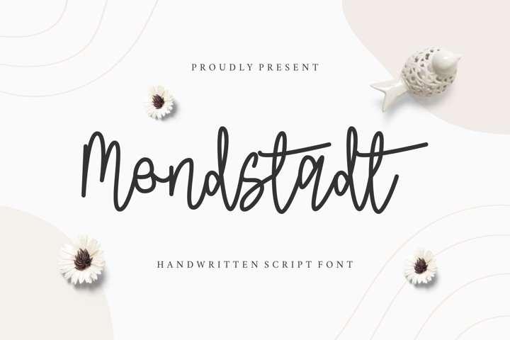 Mondstadt Display Font