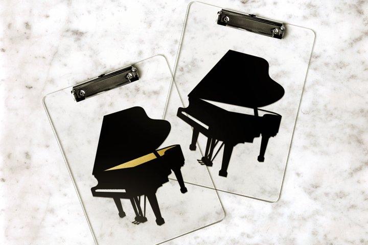 Grand Piano SVG Design