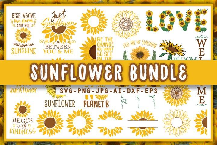 Sunflower Svg Bundle, Sunflower mandala