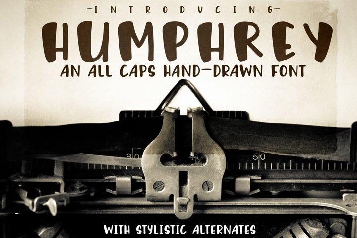 Humphrey Handwritten Font
