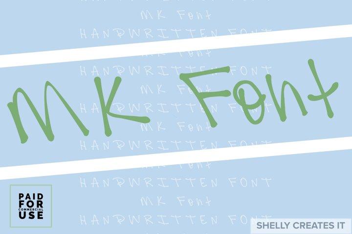 SCI_MK Font