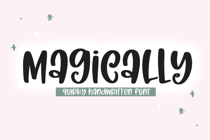 Magically - A Quirky Handwritten Font