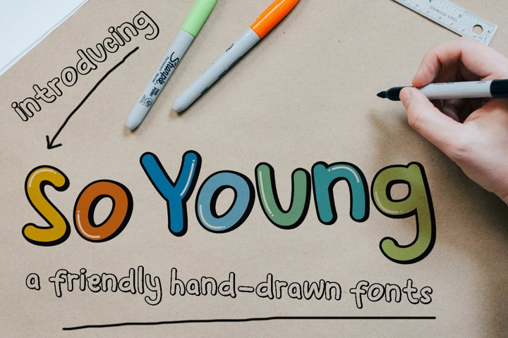 So Young - Friendly Display Font