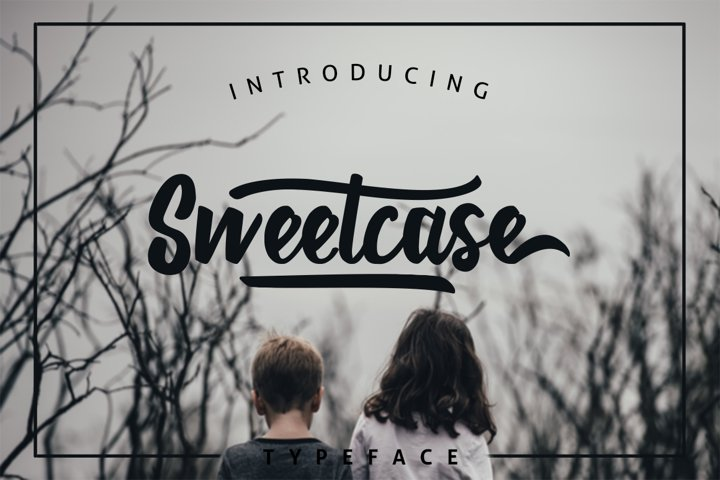 Sweetcase Typeface 30 OFF