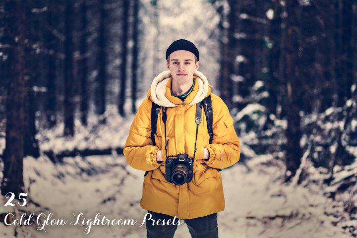 Cold Glow Lightroom Presets example