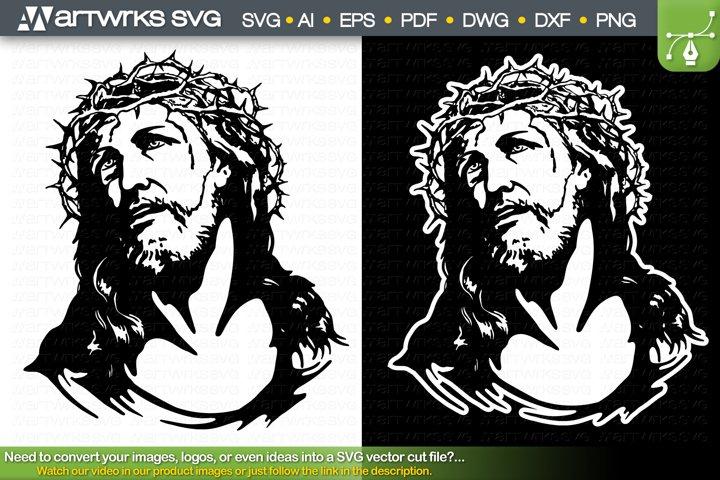 Jesus crown of thorns SVG Religious SVG by Artworks SVG