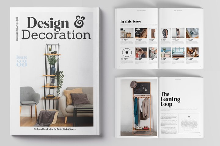 Design & Decoration Magazine Book