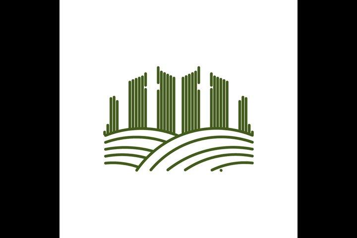 town garden logo