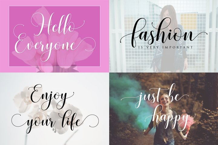 Honilad Script + Sans & Ornament - Free Font of The Week Design1