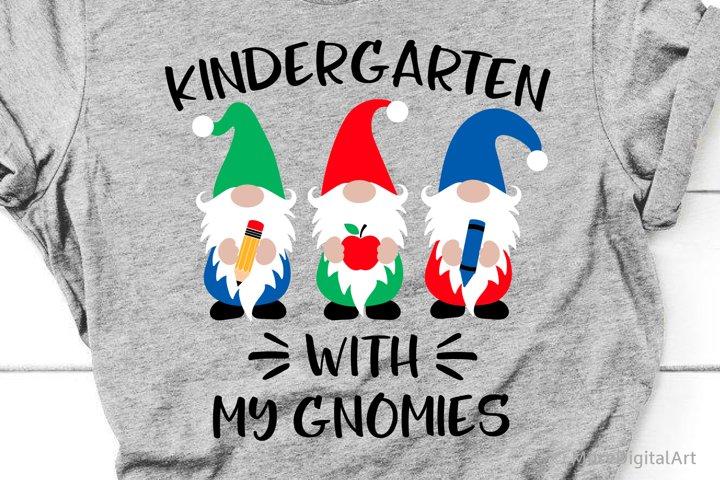 Kindergarten with My Gnomies Svg, Kindergarten Svg, Boy File