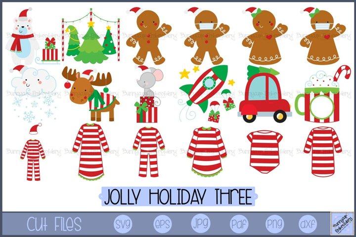 Jolly Holiday Three | Christmas SVG | Christmas Graphics