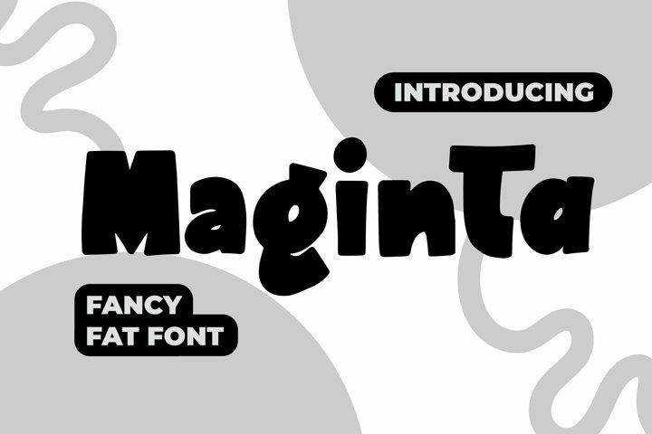Web Font Maginta - Fancy Fonts