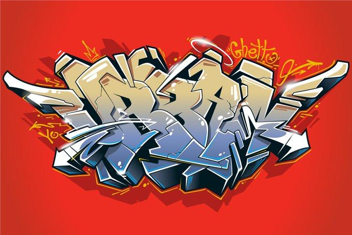 Urban | Graffiti Vector Art