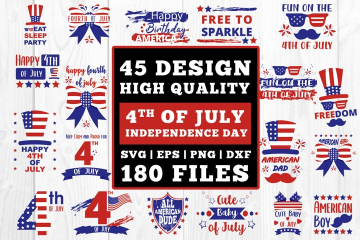4th Of July SVG Bundle Cutfiles