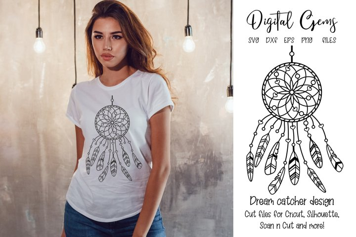 Dream catcher design SVG / EPS / DXF / PNG Files