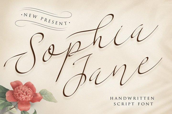 Sophia Jane Script