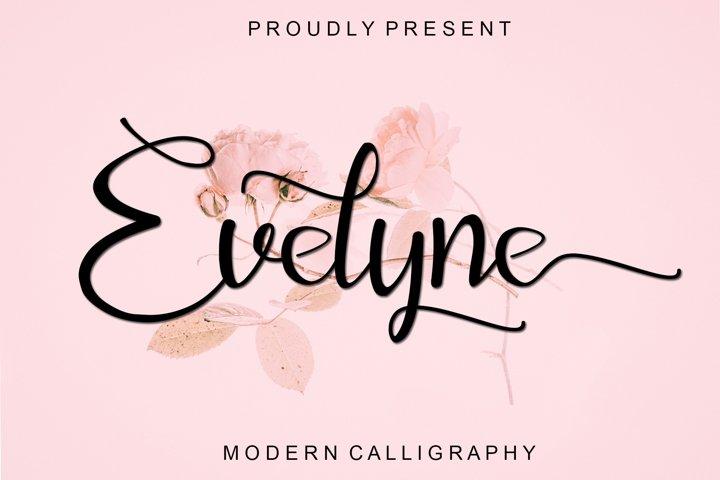 Evelyne - Modern Calligraphy
