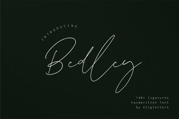 Bedley // Handwritten Font