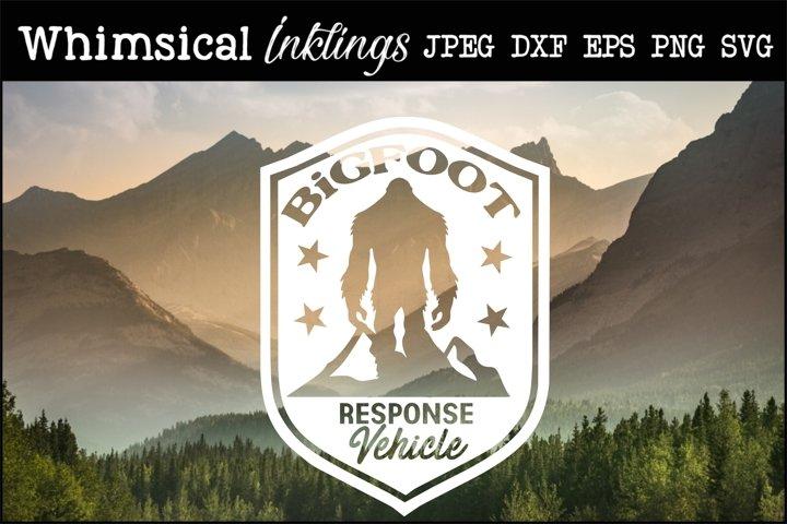 Bigfoot Response Vehicle SVG