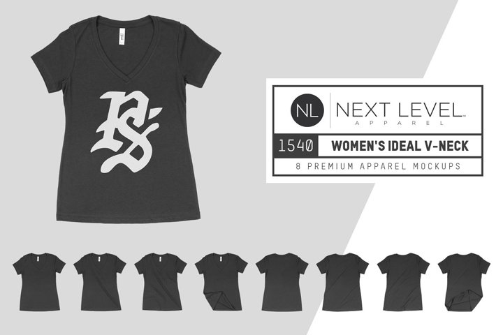 Next Level 1540 Womens Ideal V-Neck